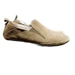 RUDSAK Men's Taupe Suede Loafers (Size 10.5)
